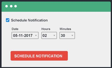 Schedule Push Notifications