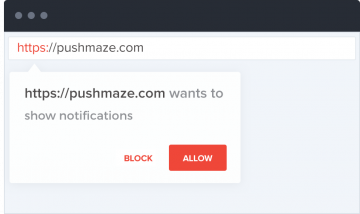 Unblockable Popup Confirmation - Browser Push Notifications