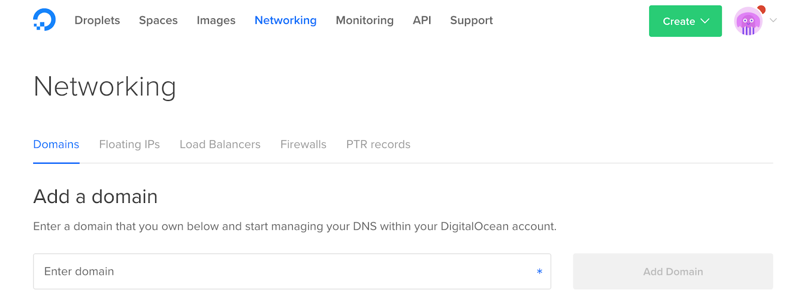 7 digital ocean networking