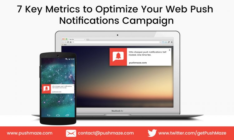 Key Metrics to Optimize Your Web Push Notifications Campaign