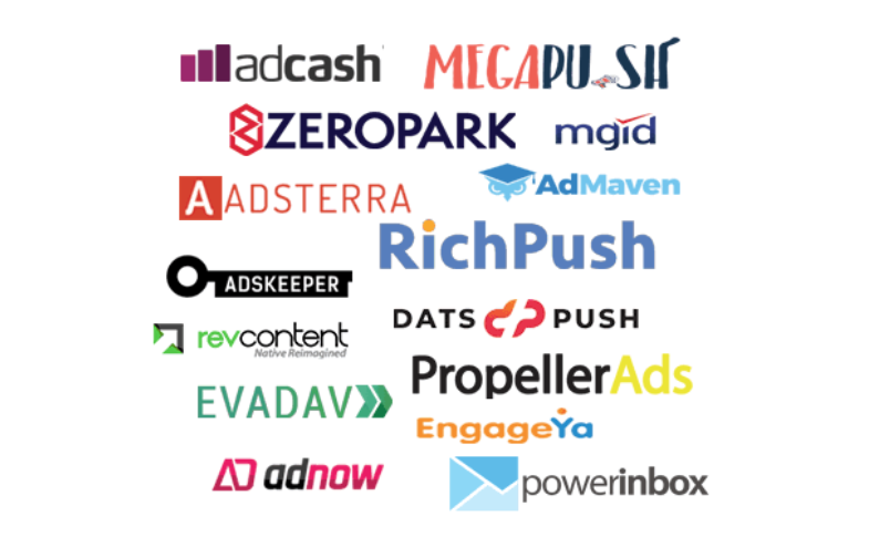 push ad networks