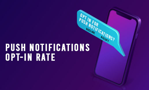 push notification opt in rate